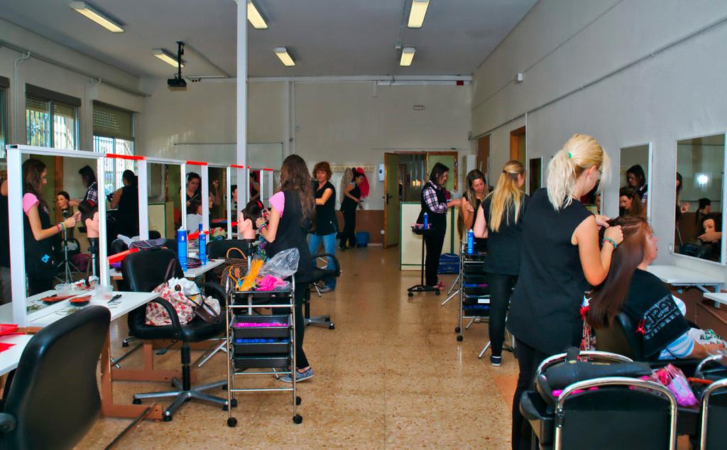taller de peluqueria hespérides